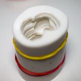 Совмещённый разрез силиконовой формы
